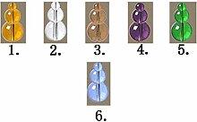 LIQICAI Bogen Türvorhang Crystal Perlen Vorhang