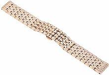 Liqiqi Für Huawei B5 Armband Edelstahl Kristall