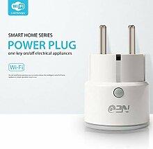 Liqiqi Wifi Smart EU-Stecker Funktioniert Alexa,