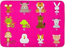 LIS HOME Badteppich Asia Adorable 12 Chinese