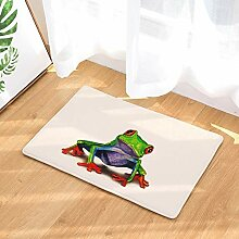 LIS HOME Eingangsmatte Frosch Muster Tür Pad