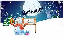 LIS HOME Frohe Weihnachten Fußmatte, Neuheit