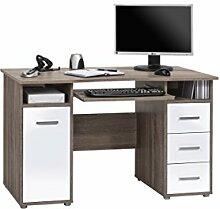 lisel-de Computertisch Schreibtisch Maja in Eiche
