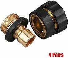 LISHI-DZI 1 Paar / 4 Paare / 8 Paare Tap Adapter