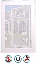 LISIANG Fliegengitter Fenster Mit Rahmen Klemmen,