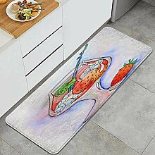 LISNIANY Küchenfußmatten Küche Bodenmatte