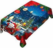 Litale Weihnachten Tischdecke Stuhlbezug Set