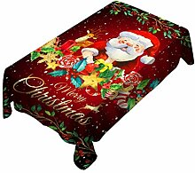 Litale Weihnachten Wachstuch Wachstischdecke