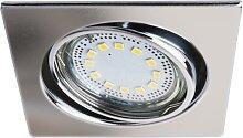Lite LED chrom Einbaustrahler Set