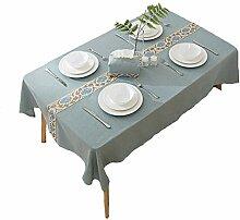 Literarische Tischdecke Wasserdicht Rustikal