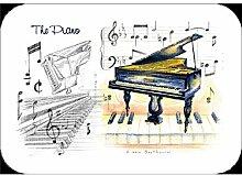 Little Schnarchen Cards & Gifts Piano Tisch-Sets, mehrfarbig, 4Stück
