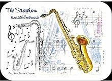 Little Schnarchen Cards & Gifts Saxophon