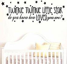 Little Star Songtexte Wandaufkleber Kinder