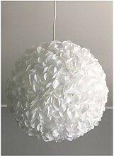 Little White Fluffy, weiße Lampe Leuchte