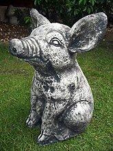 LittleGems Große Ornament Schwein Ferkel Statue Skulptur SID,Pinky undPerky Garden & Home Weihnachts Weihnachtsgeschenk Celebration Geschenk