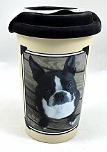 LittleGifts 6349Boston Terrier Foto Keramik Becher