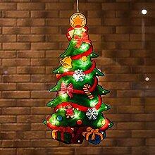 Litty Weihnachtsdeko Fenster Weihnachtsbeleuchtung
