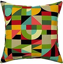 LIU&BAG Dekorative Kissenbezüge Bauhaus-Stil
