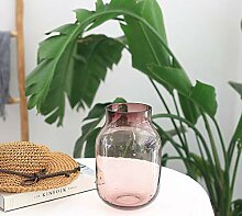 liu Dickes Transparentes Glas Tischvase