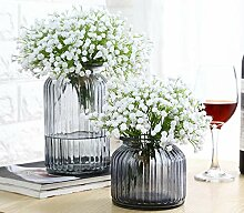 liu Kristallglasvase Blumentopf Glasvase