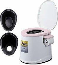 LIU UK Portable Toilet Bewegliche Toilette,