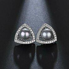Liudaye Frauen Einfache Gestüt Ohrringe Geschenk