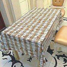 Liudaye PVC Tischdecke für ultradünne