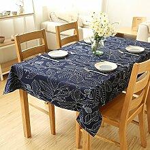 Liudaye Tischdecke einfache moderne Baumwolle