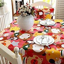 Liudaye Tischdecke voll Baumwolle verdickte