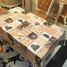 Liudaye Undurchsichtige Mode Tischdecke PVC