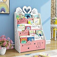 Liuhoulin Kinder-Bücherregal Bücherregal