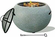 LIUHUI Feuerschale Feuerkorb Feuerstelle,enthält