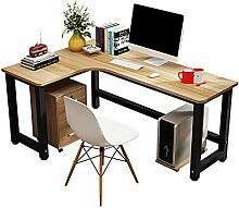 LiuHX Möbel Computertisch Schreibtisch Holz