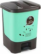 LiuJF-Waste Recycling Wohnzimmer Mülleimer,