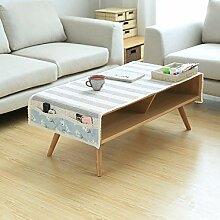 LIUJUAN Tischdecken Leinen Optik Tischmatte Aus