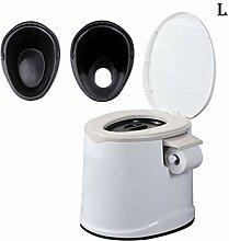 LIULIFE Toilettenstuhl Mobile Toilette Schwangere