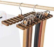 2er Set Gürtelhalter Gürtelaufhänger Schalhalter Schrank Gürtel belt hanger