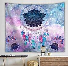 liuweideshoop Tapisserie Mandala Hippie Wandbehang