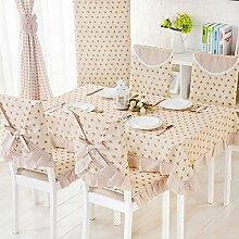 LIUYU American Cotton Table Tuch / Patchwork Tischdecke / Tischdecke / Tv Schrank Tisch-Tuch-A 140X140Cm (55X55Inch),B, 150x150cm (59x59inch)