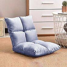 Liuzecai Relaxing Sofa Einstellbare Boden Stuhl