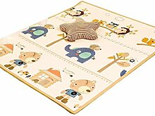 LIUZEIMIN Pvcbaby kriechen matte,Sichere kinder puzzle spielmatte Kinder spielen matte für innen und außen-A 180*300*1.7CM