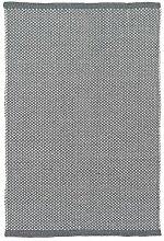 LIV INTERIOR PET Teppich DOTS 200 x 140 cm, grau