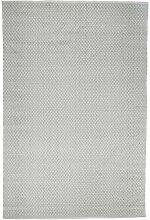 LIV INTERIOR Poly-Teppich, Lacis, Grau/weiß,