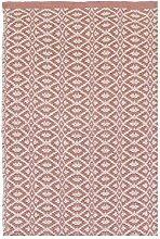 LIV INTERIOR Teppich Bergen rosé 200 x 70 cm