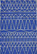 LIV INTERIOR Teppich, Tribal, Bedruckte Baumwolle,