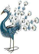 Livarno Home Gartendeko (Pfau/blau)
