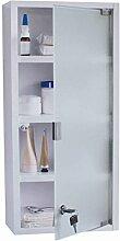 Livarno® Living Medizinschrank - Erste Hilfe Schrank - Medikamentenschrank mit Schloss Weiß