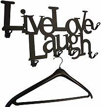 Live Love Laugh - Flurgarderobe - Garderobe - Lebe