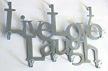 Live Love Laugh - Türgarderobe -
