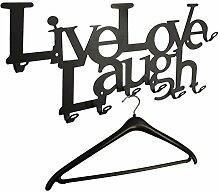 Live Love Laugh - Wandgarderobe 58 cm - das